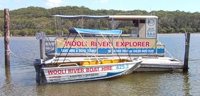 Boats for Hire - Wooli River Explorer and Runabouts